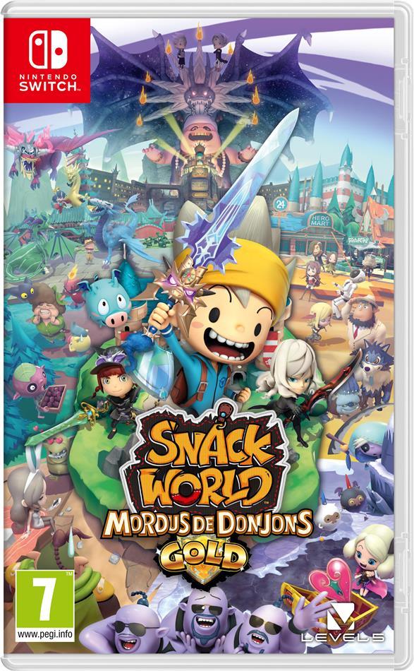 Snack World: Mordus De Donjons - Gold