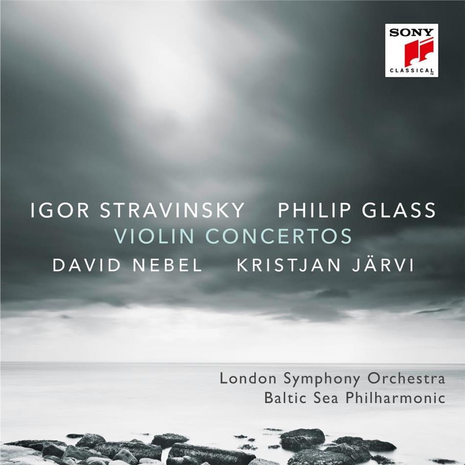 Philip Glass (*1937), Igor Strawinsky (1882-1971), Kristjan Järvi, David Nebel & London Philharmonia - Violinkonzerte