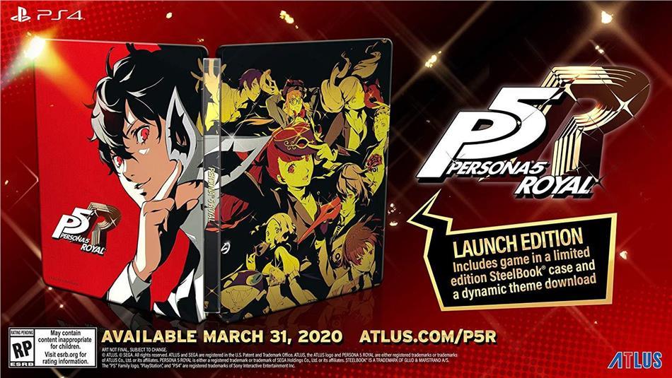 Persona 5 Royal Steelbook Launch Edition