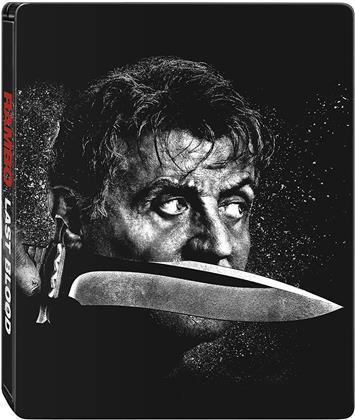 Rambo 5 - Last Blood (2019) (Steelbook, 4K Ultra HD + Blu-ray)