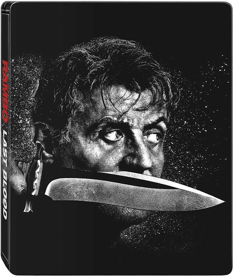 Rambo 5 - Last Blood (2019) (Steelbook, 4K Ultra HD + Blu-ray)