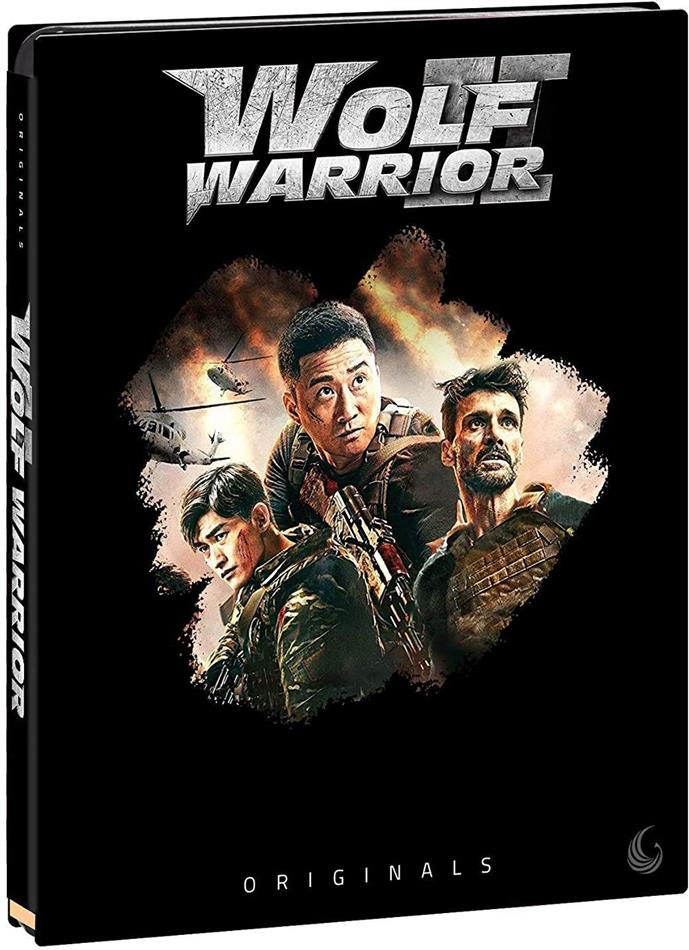 Wolf Warrior II (2017) (Originals, Blu-ray + DVD)