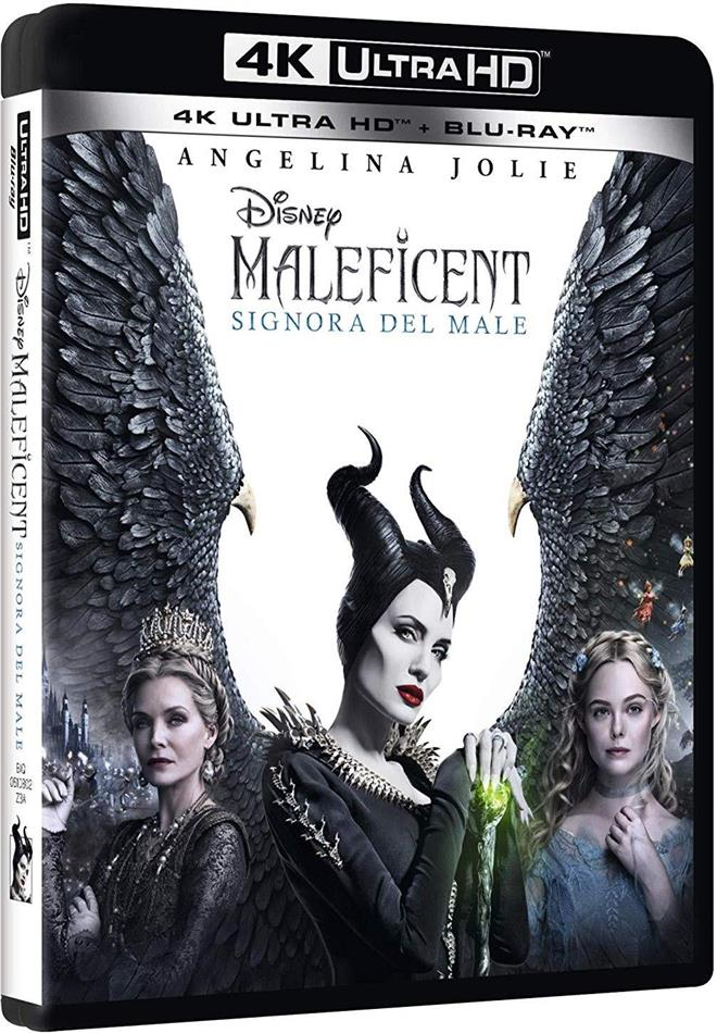 Maleficent 2 - Signora del male (2019) (4K Ultra HD + Blu-ray)