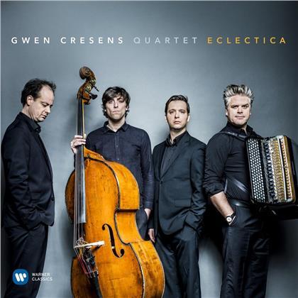 Gwen Cresens, Gwen Cresens Quartet, Edvard Grieg (1843-1907), Johann Sebastian Bach (1685-1750), Astor Piazzolla (1921-1992), … - Eclectica