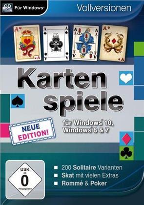 Kartenspiele für Windows 10 - Neue Edition