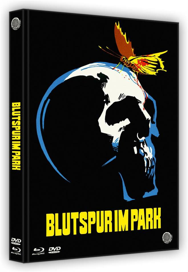 Blutspur im Park (1971) (Cover B, Edizione Limitata, Mediabook, Uncut, Blu-ray + DVD)