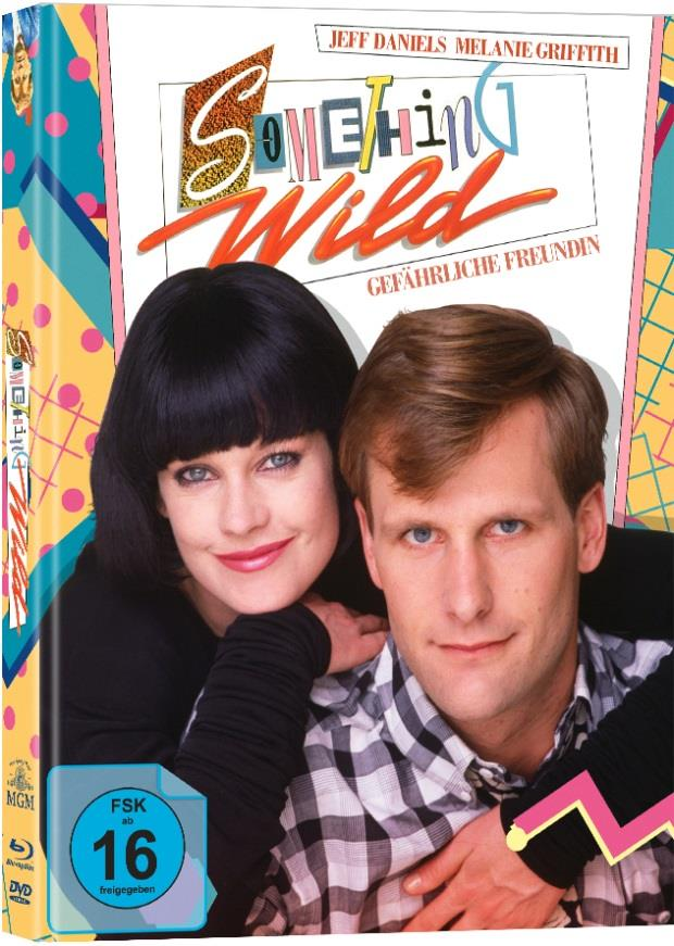 Something Wild - Gefährliche Freundin (1986) (Cover B, Limited Edition, Mediabook, Blu-ray + DVD)