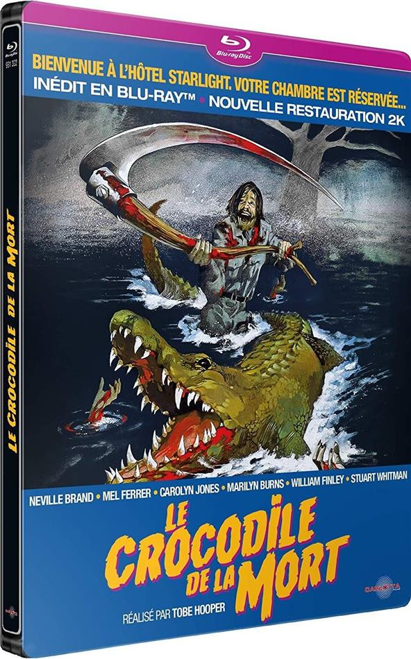 Le crocodile de la mort (1976) (Version inédite, Limited Edition, Restaurierte Fassung, Steelbook)