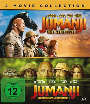 Jumanji - The Next Level / Jumanji - Willkommen im Dschungel - 2-Movie Collection (2 Blu-rays)