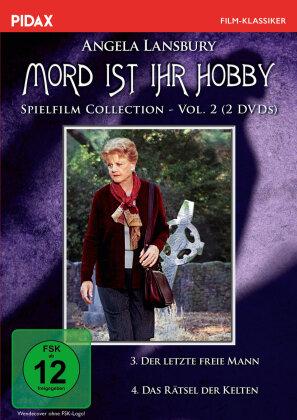 Mord ist ihr Hobby - Spielfilm Collection - Vol. 2: Der letzte freie Mann / Das Rätsel der Kelten (Pidax Serien-Klassiker, 2 DVDs)
