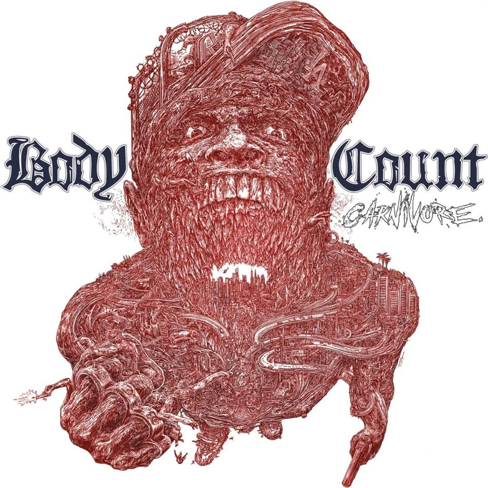Body Count (Ice-T) - Carnivore (Gatefold, Poster, LP + CD)