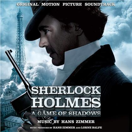 Hans Zimmer - Sherlock Holmes - A Game Of Shadows (Music On Vinyl, Limited, Papersleeve Limited Edition, Black/Silver Vinyl, LP)