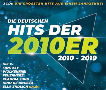 Die Deutschen Hits Der 2010er (3 CDs)