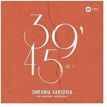 Sinfonia Varsovia, Jerzy Maksymiuk & Jacek Kaspszyk - 39'45 Vol. 3