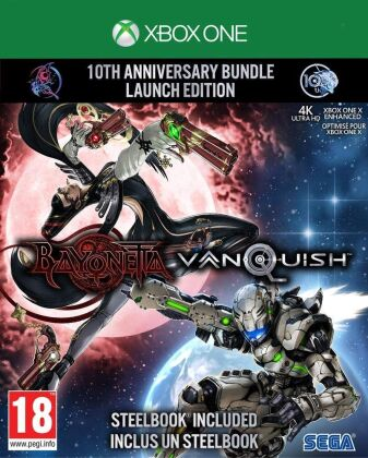 Bayonetta & Vanquish - 10th Anniversary Bundle (Édition Limitée)