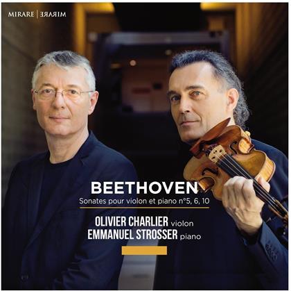 Charlier, Strosser & Ludwig van Beethoven (1770-1827) - Sonates Pour Violon Et Piano
