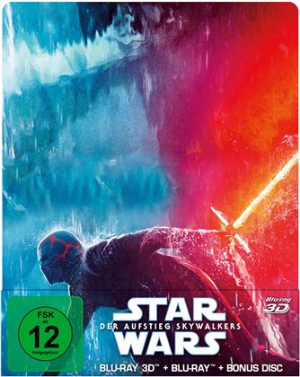 Star Wars - Episode 9 - Der Aufstieg Skywalkers (2019) (Limited Edition, Steelbook, Blu-ray 3D + 2 Blu-rays)