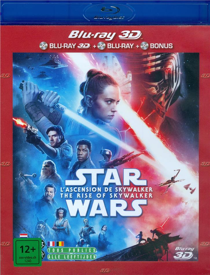 Star Wars - Episode 9 - L'ascension de Skywalker / The Rise of Skywalker (2019) (Blu-ray 3D + 2 Blu-rays)