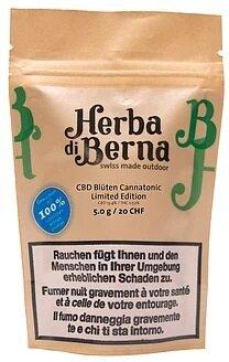 Herba di Berna Cannatonic (5g) - Outdoor (CBD: 13.4% THC: 0.52%)