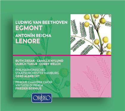 Ludwig van Beethoven (1770-1827), Anton Reicha (1770-1836), Gerd Albrecht, Frieder Bernius, Ulrich Tukur, … - Egmont / Lenore