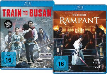 Train to Busan (2015) / Rampant (2018) (Limited Edition, 2 Blu-rays)