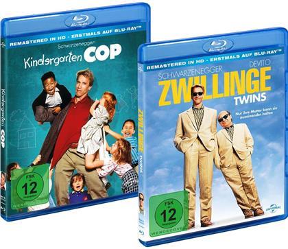Kindergarten Cop / Zwillinge (Remastered, 2 Blu-rays)