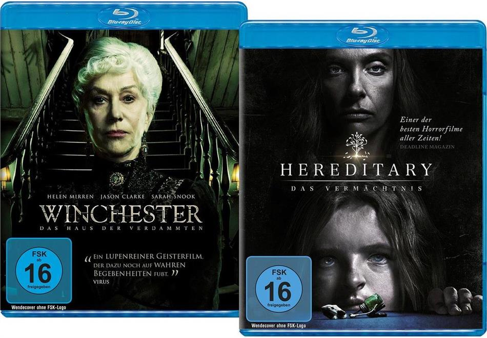 Winchester (2018) / Hereditary (2018) (Limited Edition, 2 Blu-rays)