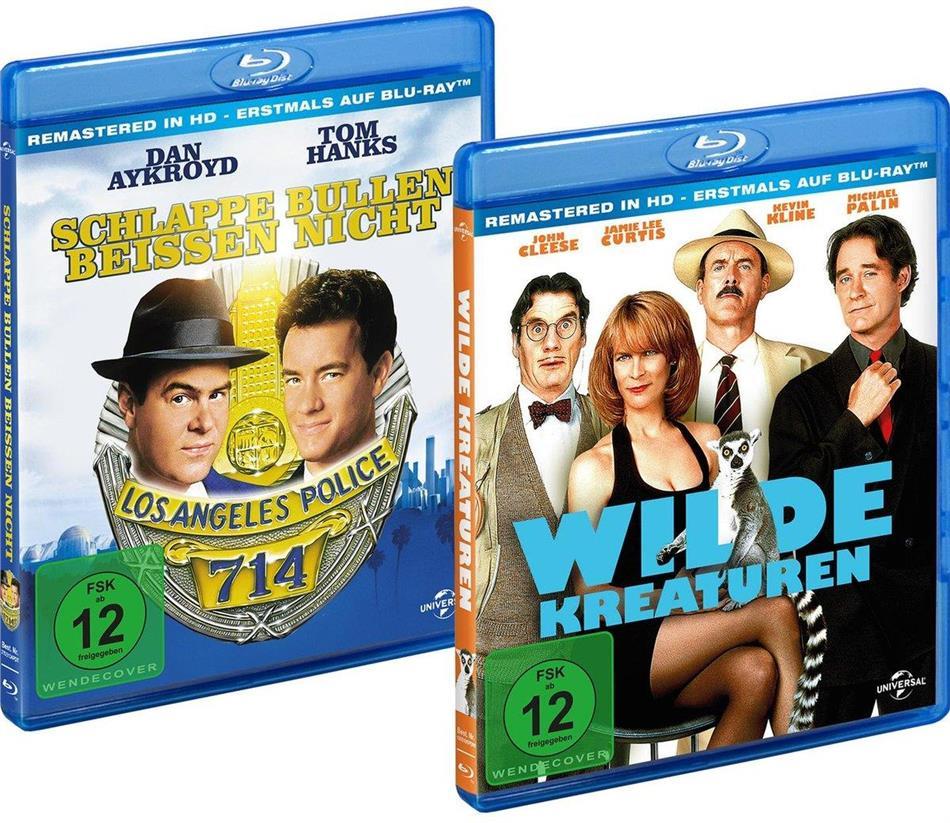 Schlappe Bullen beissen nicht / Wilde Kreaturen (Remastered, 2 Blu-rays)
