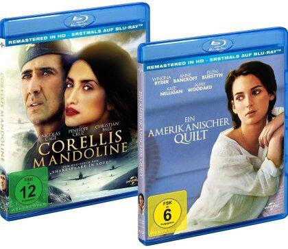 Corellis Mandoline / Ein amerikanischer Quilt (Remastered, 2 Blu-rays)