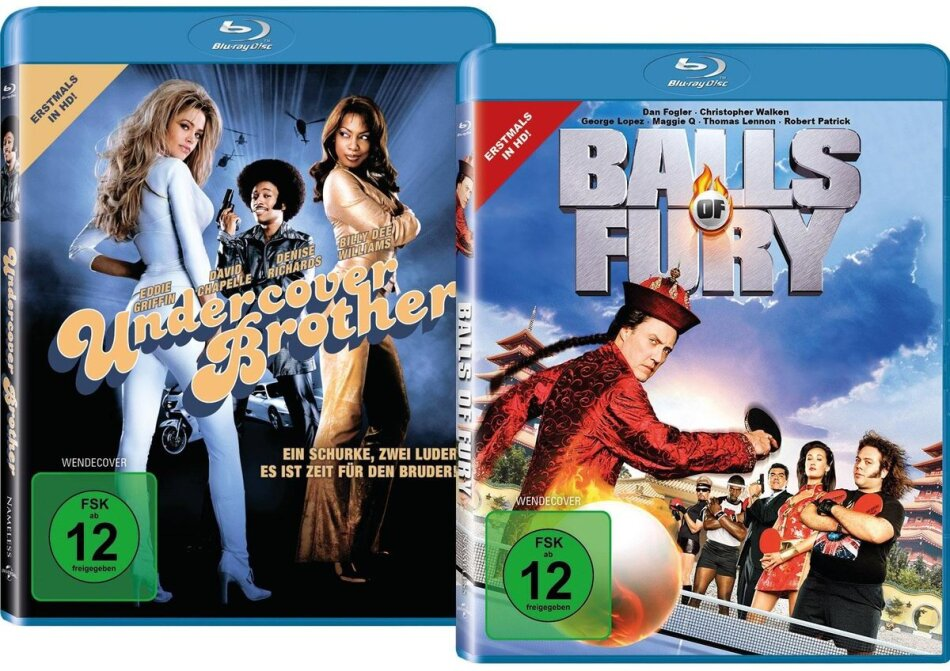 Balls of Fury (2007) / Undercover Brother (2002) (Limited Edition, 2 Blu-rays)