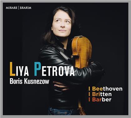 Ludwig van Beethoven (1770-1827), Benjamin Britten (1913-1976), Samuel Barber (1910-1981), Liya Petrova & Boris Kusnezow - Beethoven/Britten/Barber
