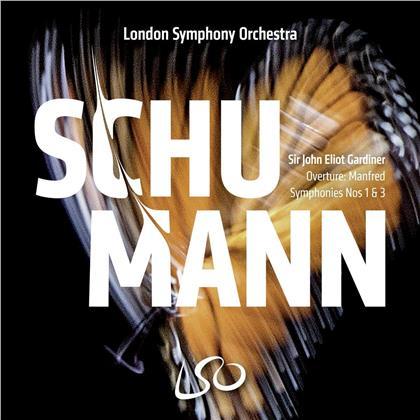 Robert Schumann (1810-1856), Sir John Eliot Gardiner & London Symphony Orchesta - Symphonies 1 & 3 (Hybrid SACD)