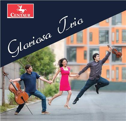 Gloriosa Piano Trio, Camille Saint-Saëns (1835-1921), Karen LeFrak (*1947), Theodore Wiprud (*1958), Astor Piazzolla (1921-1992), … - Gloriosa Piano Trio