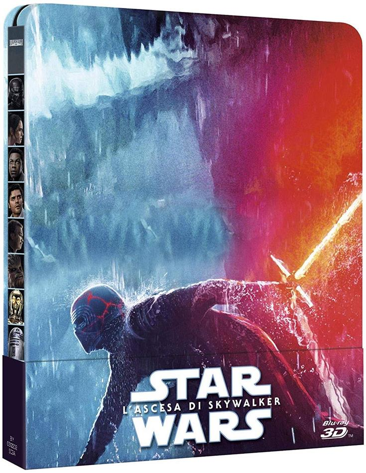 Star Wars - Episode 9 - L'ascesa di Skywalker (2019) (Limited Edition, Steelbook, Blu-ray 3D + 2 Blu-rays)