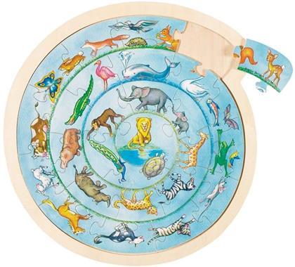 Tierkreis - 27 Teile Einlegepuzzle