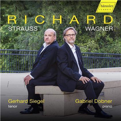 Richard Strauss (1864-1949), Richard Wagner (1813-1883), Gerhard Siegel & Gabriel Dobner - Lieder