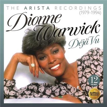 Dionne Warwick - Deja Vu - The Arista Recordings 1979 - 1984 (12 CDs)