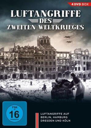 Luftangriffe des Zweiten Weltkrieges (4 DVD)