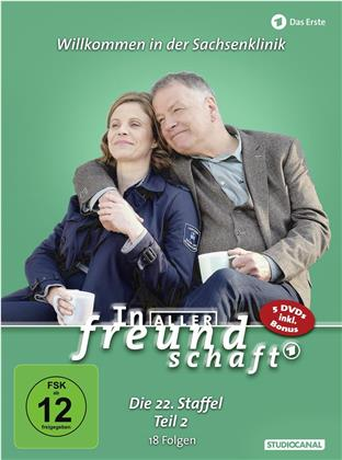 In aller Freundschaft - Staffel 22.2 (5 DVD)