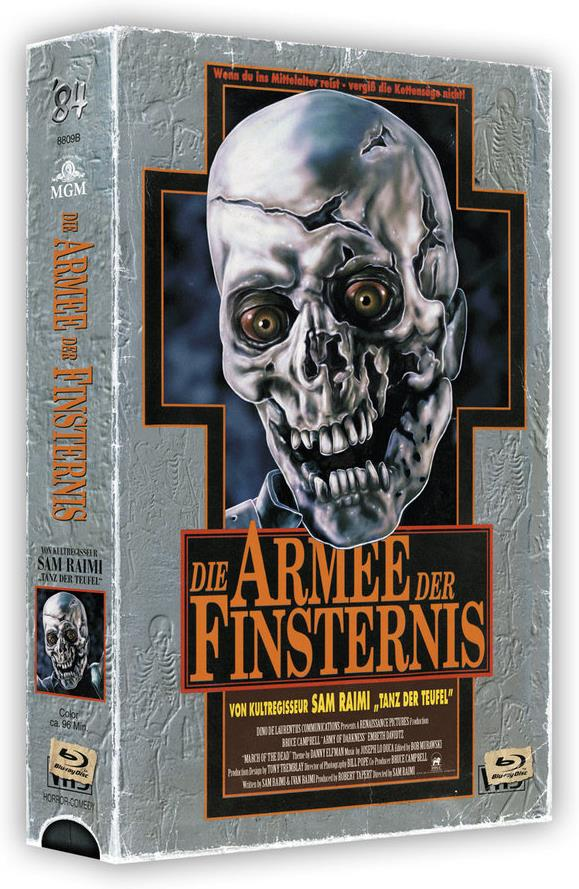 Die Armee der Finsternis (1992) (VHS-Edition, Cover B, Limited Edition, Uncut, 3 Blu-rays)