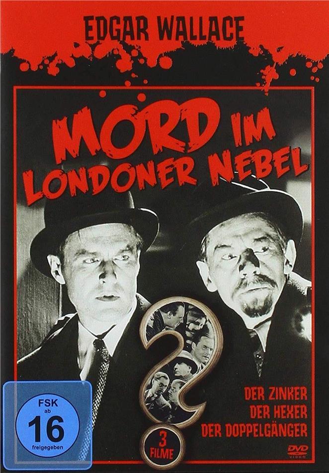 Edgar Wallace - Mord im Londoner Nebel - Der Zinker / Der Hexer / Der Doppelgänger