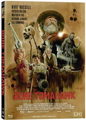 Bone Tomahawk (2015) (Cover F, Limited Edition, Mediabook, Blu-ray + DVD)