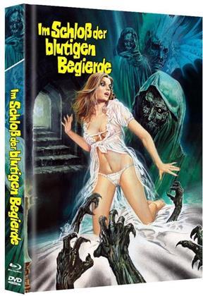 Im Schloss der blutigen Begierde (1968) (Limited Edition, Mediabook, Blu-ray + DVD)