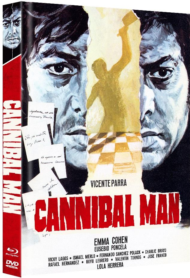 Cannibal Man (1972) (Limited Edition, Mediabook, Blu-ray + DVD)