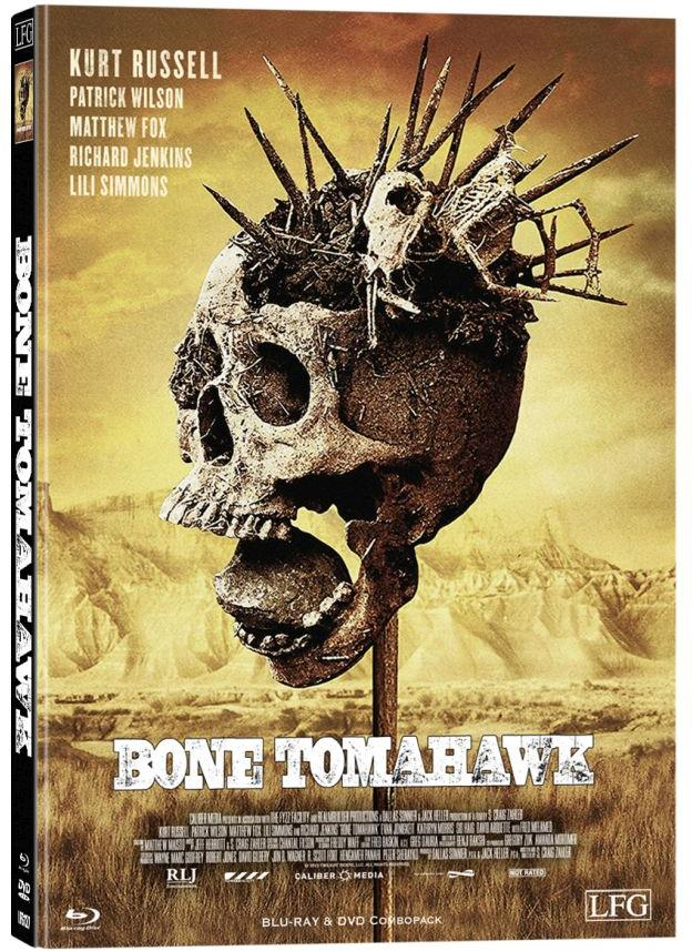 Bone Tomahawk (2015) (Cover A, Limited Edition, Mediabook, Blu-ray + DVD)