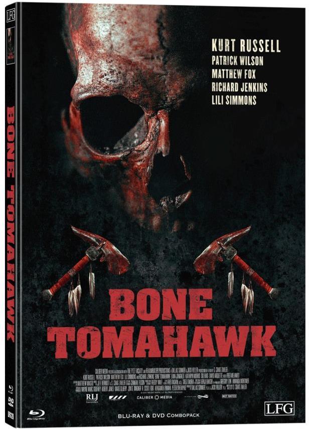Bone Tomahawk (2015) (Cover B, Limited Edition, Mediabook, Blu-ray + DVD)