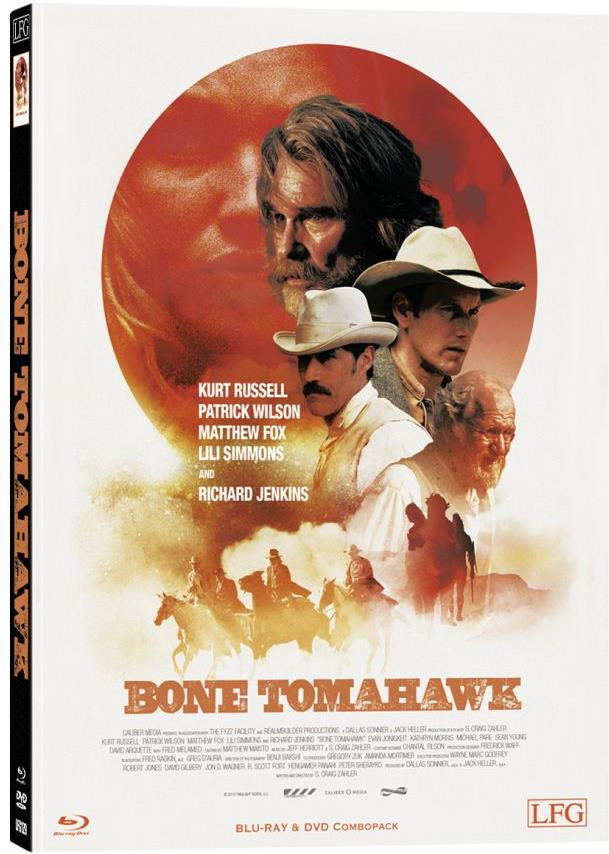 Bone Tomahawk (2015) (Cover C, Limited Edition, Mediabook, Blu-ray + DVD)