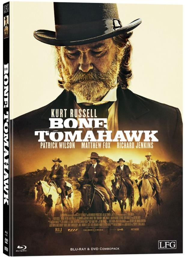 Bone Tomahawk (2015) (Cover D, Limited Edition, Mediabook, Blu-ray + DVD)