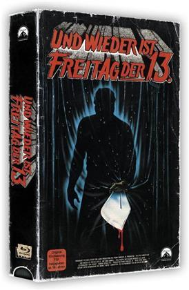 Und wieder ist Freitag der 13. - Freitag der 13. - Teil 3 (1982) (VHS Retro Edition, VHS Box, Limited Edition, Blu-ray + DVD)