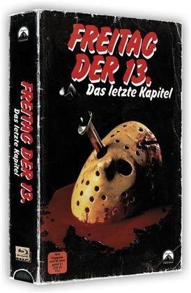 Freitag der 13. - Teil 4 - Das letzte Kapitel (1984) (VHS Retro Edition, VHS Box, Limited Edition, Blu-ray + DVD)